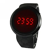 Men's Touch Screen Simple And Stylish Dress Watch Quartz Digital LED
