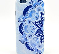 Blue And White Porcelain Pattern TPU Soft Cover for iPhone 6