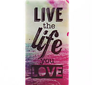 Life Pattern Soft TPU Case for Sony Xperia M2