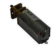 60rpm 13ga 12v 3 milímetros eixo mini-dc motor caixa de engrenagem voltada para o carro inteligente