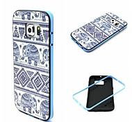 Teléfono Móvil Samsung - Cobertor Posterior - Gráfico/Dibujos Animados/Diseño Especial - para Samsung Samsung Galaxy S6 edge (