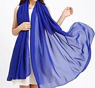 Women's Latest Elegant Solid Color Long Scarves