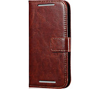 Retro PU Leather Wallet Case for HTC Desire 601 (Assorted Colors)