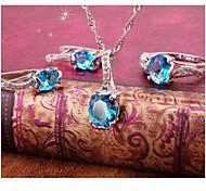 Women's Jewelry Sets Round Handmede Jewelry Sets