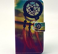 Beautiful Dream Catcher Pattern PU Leather Case with Money Holder Card Slot for Samsung Galaxy A3