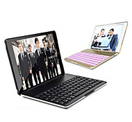 Aluminium Folio Bluetooth Keyboard Protective Case Cover With Colorful Backlit Light for Ipad Air /Ipad 5 Case