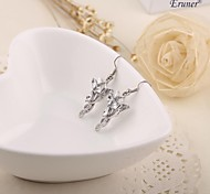 Eruner® Hobbit Arwen Evenstar earring vintage the Elves princess earrings crystal silver for women wholesale