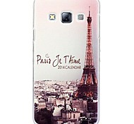 Fashion Painted Tower PC Hard Case for Samsung Galaxy A3