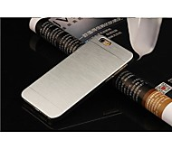 iPhone 6 - Rückseiten Cover - Metall gebürstet (Verschiedene Farben , Polycarbonat)