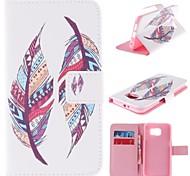 Celular Samsung - Samsung Samsung Galaxy S6 - Cases Totais - Arte Gráfica/Design Especial ( Multi-côr , Pele PU )