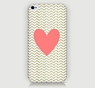 Loving Heart Pattern Back Case for iPhone4/4S