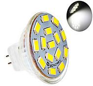 Faretti LED 15 SMD 5730 dingyao GU4(MR11) 6W 360 LM Bianco caldo / Luce fredda 1 pezzo AC 12 V