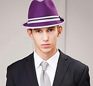 Women's Men's Wool Headpiece-Casual Hats