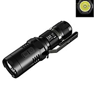 NITECORE EA11 900 Lumens Mini CREE XM-L2 U2 LED Pocket Flashlight(1XAA/14500, Black)