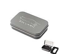 EDCGEAR Metal Storage Box Case for Cigarette - Grey Green