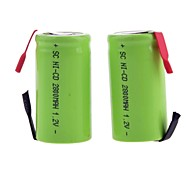 2800mAh 1.2V SC-type Rechargeable NiMH Battery (2pcs)