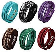 Bracelet/Friendship Bracelets  Wrap Bracelets  Vintage Bracelets Alloy Rhinestone Jewelry  Christmas Gifts