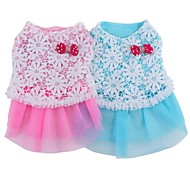 Lovely Hollowing Out Bubble Skirt with Lace for Pets Dogs (Assorted Colors and Sizes)