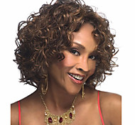 High Quality Fashion High Quality Synthetic Wig High Temperature Wire Little Curls