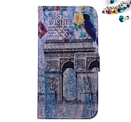Shimen Arrow Pattern PU leather Full Body Case Dustproof Plug With Card Slot and Stand for Motorola G2