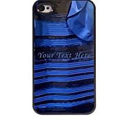 - für iPhone 4/4S - Spezielles Design - Plastik/Metall - Mehrfarbig