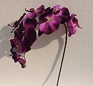 "37"" Long Fabric Butterfly Ochird Set of 3 Purple Color"