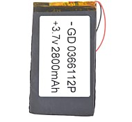 Batteria - Litio-polimero 0366112P - 2800mAh - ( mAh )