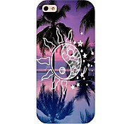 Coconut Palm Pattern Hard Back Case for iphone 5/5s