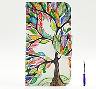 The Tree of Life Pattern PU Leather Case Cover with A Touch Pen ,Stand and Card Holder for Nokia Lumia 630