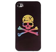 Yellow Skull Design Aluminum Hard Case for iPhone 4/4S