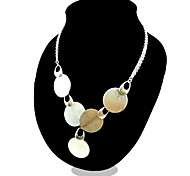 Necklace Pendant Necklaces Jewelry Party / Casual Fashion Silver / Sterling Silver Silver 1pc Gift