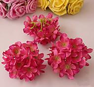 oito roxo hyfrangeas vermelhas flores decorativas de casamento