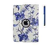 360⁰ Cases - Design speciale - Mela iPad 2/iPad 4/iPad 3 - DI Cuoio - Colori assortiti