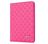 Casos Folio ( Cuero PU , Negro/Rosa ) - de Diseño Especial para Manzana iPad 2/iPad 4/iPad 3