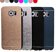 Teléfono Móvil Samsung - Cobertor Posterior - Color Sólido/Acabado Metálico - para Samsung Samsung Galaxy S6 (