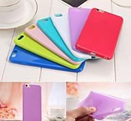 Candy Shell Pattern TPU Soft Back Cover Case for iPhone 6/6S(Assorted Colors)