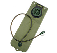 AOTU Shock Resistance Water Bladder Camping & Hiking/Traveling 3 L Army Green TPU