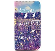 Flowers  Pattern Full Body Case with Stand for iPhone 4/4S