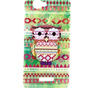 Owl  Pattern TPU Soft Back Cover for Wiko RAINBOW