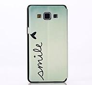 Mobile Samsung - Design Spécial - Etuis du corps entier - pour Samsung Galaxy A5 ( Multicolore , Plastique/Cuir PU )