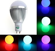 5W GU10 LED Globe Bulbs G60 1 Dip LED 350-400 lm RGB Dimmable / Remote-Controlled / Decorative AC 85-265 V