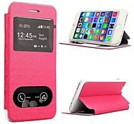iPhone 6 Plus - Gehäuse mit Kickständer/Ganzkörper-Gehäuse/Cover-Rückseite/Portemonnaie-Hülle/Smart Hülle - Einfarbig/Spezielles Design (