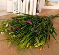 """41.3""""L Set of 1 Dog Tail Grass Plastic Plants"""