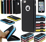 BIG D TPU and PC Fashion Back Case for iPhone 5C (Assorted Color)