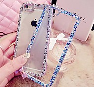 LADY   The Color Border Style  with Diamond Frame for iPhone 6