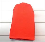New Unisex Solid Color Warm Plain Knit Ski Beanie Skull Hat