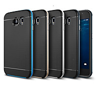 Hybrid Slim Tough Armor Back Cover Case for Samsung Galaxy S6 G9200(Assorted Colors)