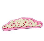 кружева sugarpaste формы для украшения торта