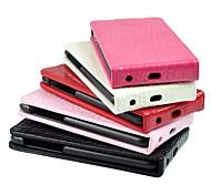 iPhone 4/4S - Hüllen (Full Body) - Volltonfarbe ( Rot/Schwarz/Weiß/Braun/Rosa/Rosenfarben , Echtleder/Kunststoff )