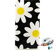 Sunflower Pattern TPU Back Cover Case and Dust Plug for Sony Xperia Z3 Mini